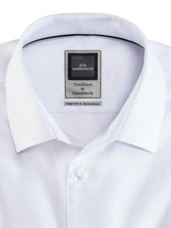 Extraglatt-Hemd Premium Weiss Detail 3