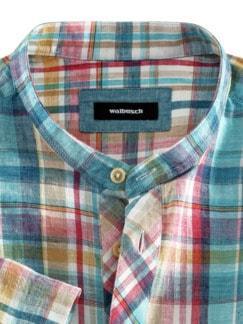 Oasen-Shirt Madraskaro Detail 3