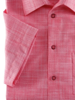Extraglatt-Hemd Tropical Rot Detail 4