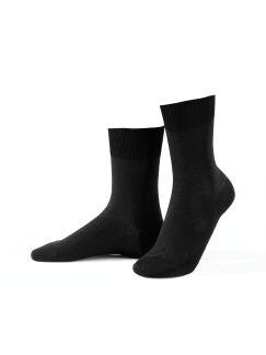 Klima-Poren Socke 2er-Pack Schwarz Detail 1