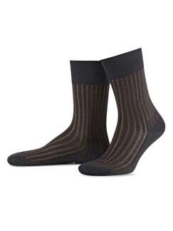 Falke Socke Uni Flanell Detail 1