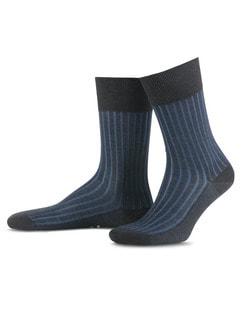 Falke Socke Uni Anthracite-Mel Detail 1