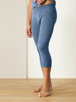 Thermo-Kniehose 2er-Pack Blau Detail 1