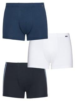 3er-Pack Pants Colore Rauchblau Detail 1