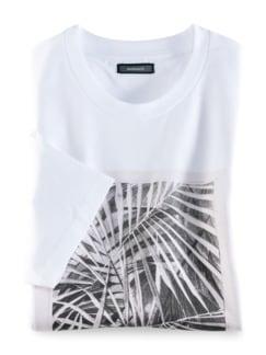 Künstler T-Shirt Heimat Weiß Detail 1