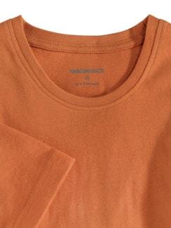 T-Shirt Rundhalsausschnitt Mandarine Detail 3