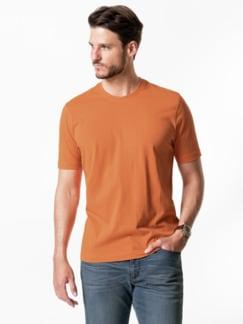 T-Shirt Rundhalsausschnitt Mandarine Detail 2