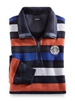 Streifen-Sweatshirt Nautica Terra/Navy Detail 1