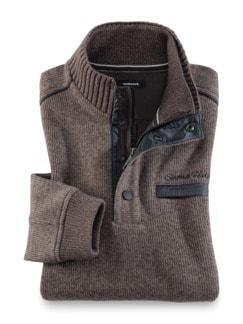 Wohlfühl-Pullover Softrib Natur Detail 1