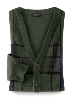 Cardigan Alcantara-Patch
