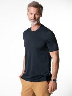 Klepper Dry Touch T-Shirt Navy Detail 2