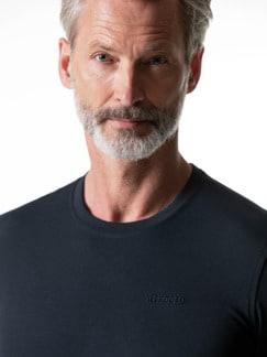 Klepper Dry Touch T-Shirt Navy Detail 4