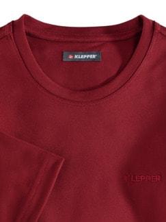 Klepper Dry Touch T-Shirt Rot Detail 3