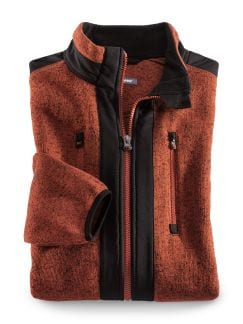 Klepper Strickfleece-Jacke Terra Detail 1