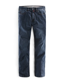 Highflex-Jeans Dunkelblau Detail 1