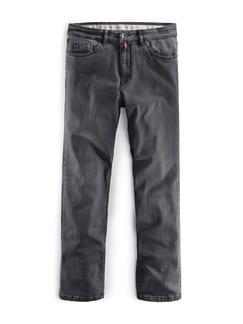 Highflex-Jeans Mittelgrau Detail 1