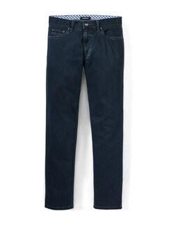 Ausstatter Leicht-Jeans Dark Blue Detail 1