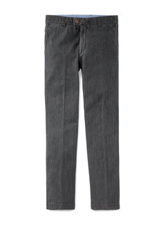 EUREX by BRAX Pima Denim Chino Grey Detail 1