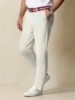 Easycare Light Cotton Chino Beige Detail 2