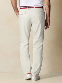 Easycare Light Cotton Chino Beige Detail 4