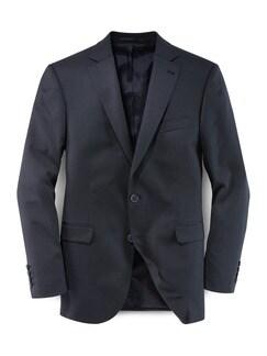 Biella Anzug-Sakko Super110 Blau/Schwarz Detail 1