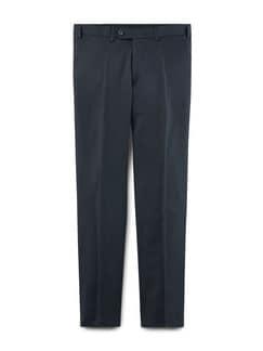 Biella Anzug-Hose Super110 Blau/Schwarz Detail 1