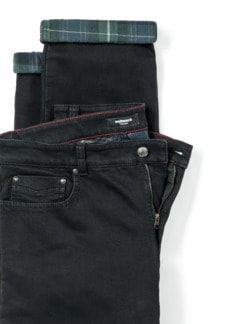 Thermojeans Five Pocket Black Detail 4