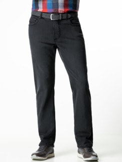 Thermojeans Five Pocket Grey Detail 2