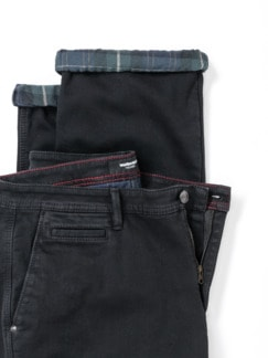 Thermojeans Chino Black Detail 4