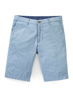 Easycare Light Cotton Bermudas Hellblau Detail 1