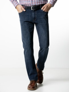 Gürtel-Jeans Modern Fit Dark Blue Detail 2