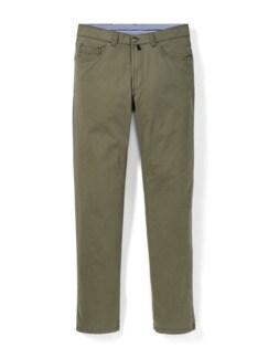 Extraglatt High Stretch Five-Pocket Khaki Detail 1
