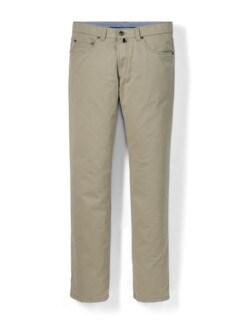 Extraglatt High Stretch Five-Pocket Beige Detail 1