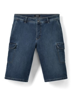 Cargo Jeans Bermudas Stone Detail 1