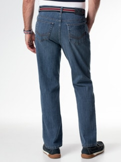 Gürtel-Jeans Regular Fit Blue Stone Detail 3