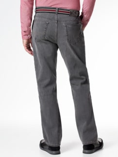 Gürtel-Jeans Regular Fit Grey Detail 3