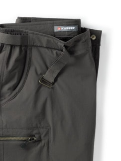 Klepper Active Shorts Anthrazit Detail 4