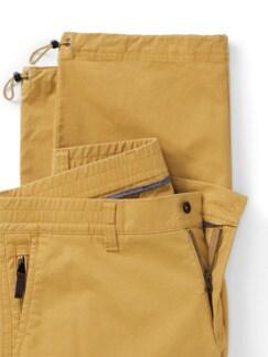 Cordura Baumwoll 7/8-Cargo Gelb Detail 4