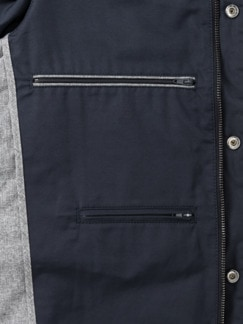 Outdoor-Weste Gentleman Marine Detail 3