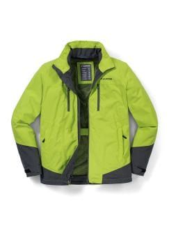 Klepper Aquastop Active Jacke Lime Detail 1