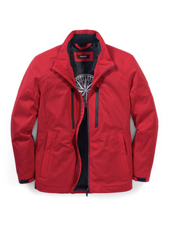 Aquastop Sailing Jacke Rot Detail 1