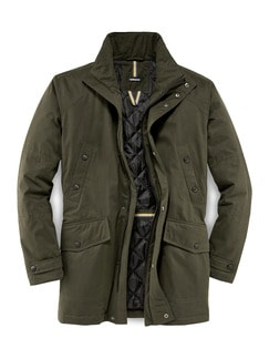 Thinsulate Parka Oliv Detail 1