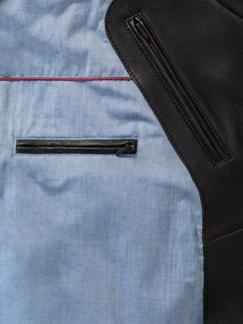 Sommerhirsch-Blouson Braun Detail 3