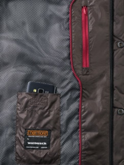 Thermore Steppjacke Mokka Detail 3