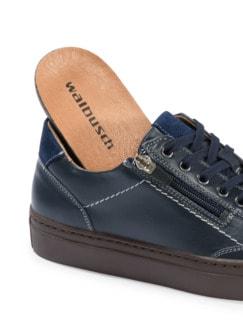 Reißverschluss-Sneaker Marine Detail 3