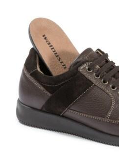 Hirschleder Sneaker Braun Detail 3