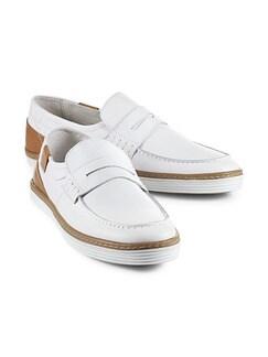 Sport-Loafer Weiß Detail 1