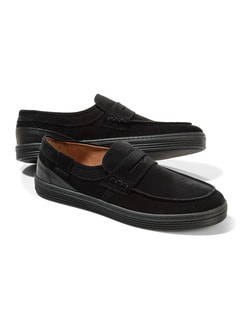 Sport Loafer Schwarz Detail 1