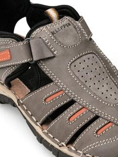 Klepper Trekking-Sandalenschuh Taupe/Orange Detail 3