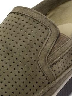 Klimaporen-Slipper Khaki Detail 4